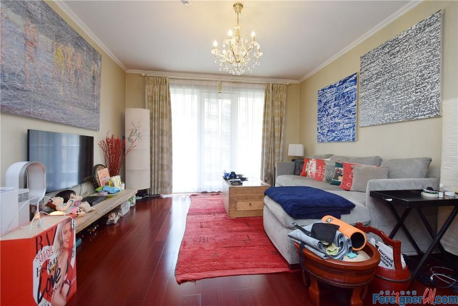 Amazing house in Richmond Park!!A 123m2  2br house will be available for rent this month.Price 17,000 RMB per month.